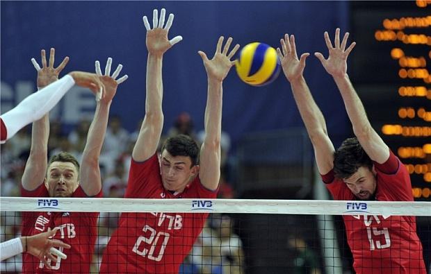 Сборная РФ поволейболу вышла в«Финал шести» Мировой лиги