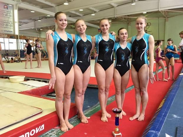 Женская сборная Алтайского края по спортивной гимнастике – вторая в командном многоборье на чемпионате Сибири