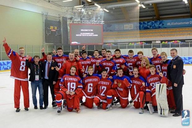 Андрей Свечников в составе хоккейной сборной России стал призером Зимней юношеской Олимпиады