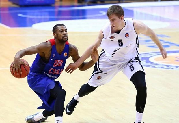 Баскетболисты ЦСКА обыграли «Автодор» ипродлили победную серию вЕдиной лиге ВТБ