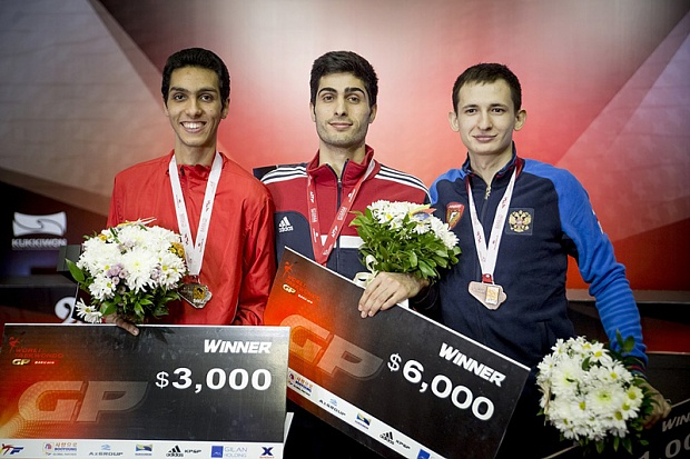 Роман Кузнецов победил олимпийского чемпиона иполучил бронзу Гран-при потхэквондо
