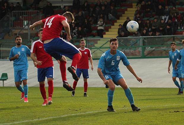 Сборная ФНЛ сыграла вничью скомандой итальянской серии В
