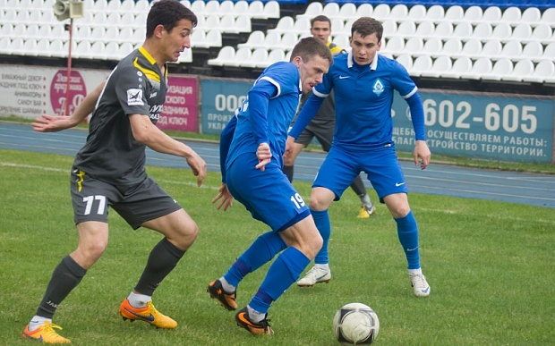 Барнаульское «Динамо» обыграло «Сахалин» иобошло его втаблице «Востока»
