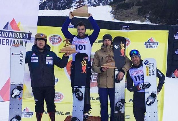 Сноубордист Соболев одержал победу итальянский этап Кубка мира